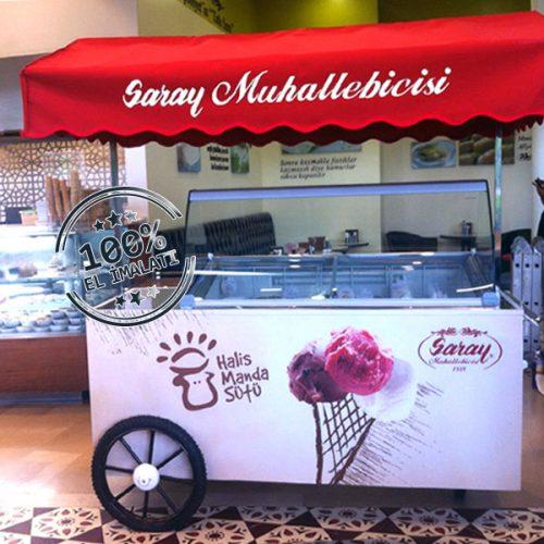 Saray Muhallebicisi Dondurma Arabası