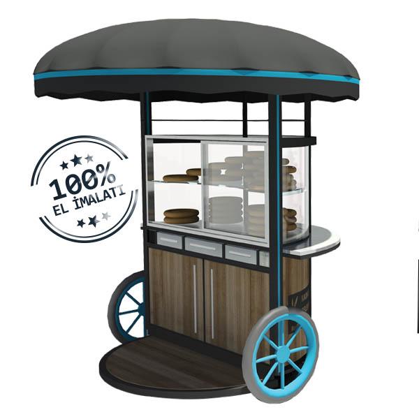 Kadıköy Modeli Simit Arabası
