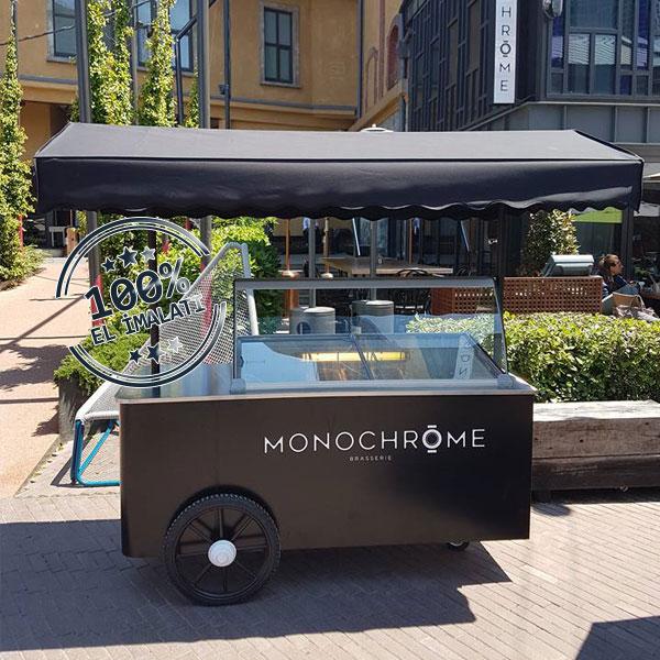 Monochrome Dondurma Arabası