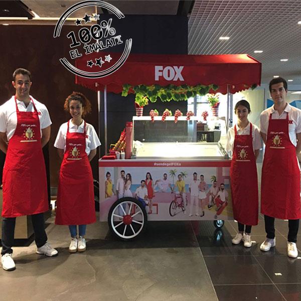 Fox Tv Dondurma Arabası