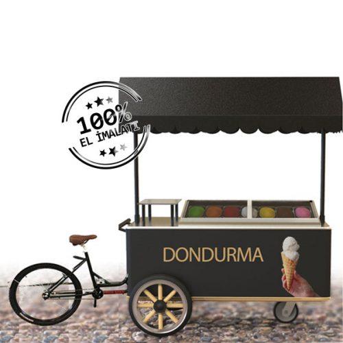 dondurma Arabası Bisikletli